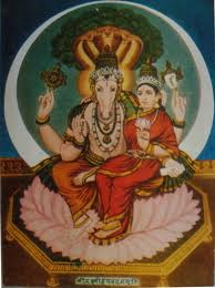 Lakshmi and Hayagriva
