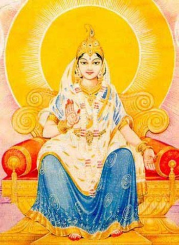 Srimati Radharani, the Queen of Devotion and the Queen of Vrindavan
