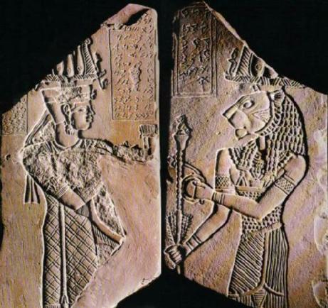 King Tanyidamani and Lord Apademak