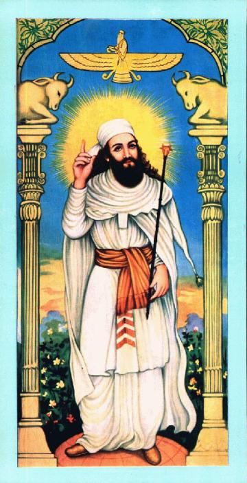 Zoroaster (Latinized from Greek variants) or Zarathushtra (from Avestan Zara?u�tra), also referred to as Zartosht (Persian: ?????), was an ancient Iranian prophet and religious poet. The hymns attributed to him, the Gathas, are at the liturgical core of Zoroastrianism.