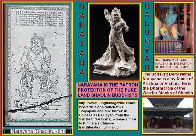 The Shaolin Temple is protected by NARAYANA
