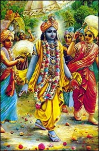 Lord Krishna Enters into the City of Dwarka