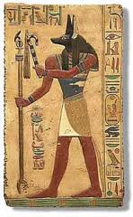 Dog-Headed Heru-Ausu Anpu/Anubis IS VASUdeva (WS Septre), ANKH the PR-AUSU Savior God, Osiris the Good Shepard (Crook), Helios (Chariot Crop...a noisemaker), Djed (Jagannatha Pillar), and ELI ( Bull Tail) Dharma the ILU-Thoru (TORO) Ugaritic God of TORAH, Dharma.