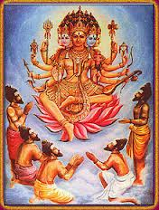 Lord Vishvakarman is also recognized as the Purusha in the Vedas