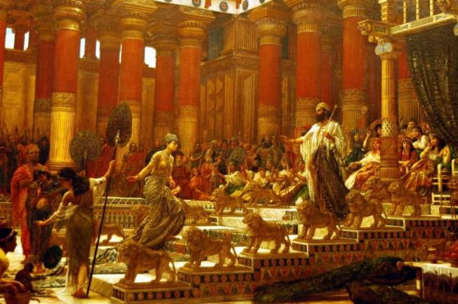 The Visit of the Queen of Sheba to King Solomon, Edward John Poynter 1884-1890